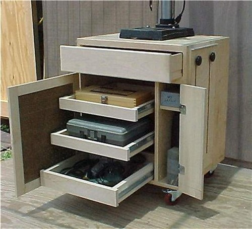 Nitrogen Bench Top Cabinet ~ Height for bench top drill press stand the sawdustzone