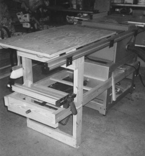 Ryobi BT3000 Extension Table - The SawdustZone